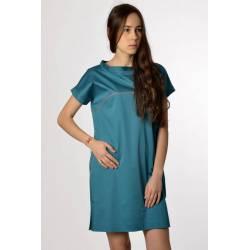 Robe Tavi (vert bleuté)