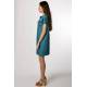 Dress Tavi (blueish green)