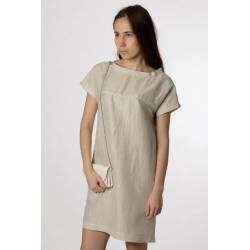 Dress Tavi (silver ecru)
