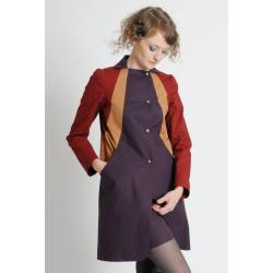 Manteau Eva (version automne) [MULTICOLORE]
