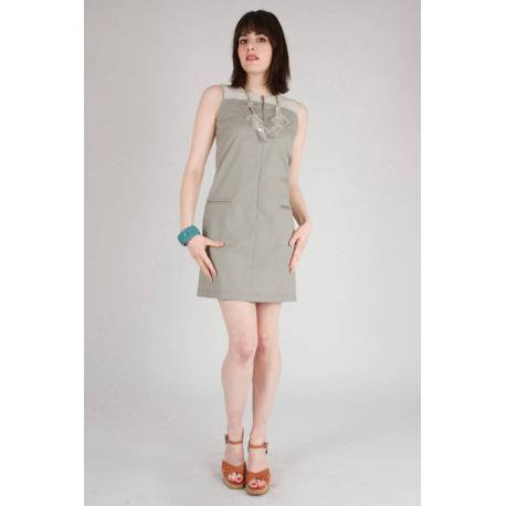Robe Odile (gris perle)