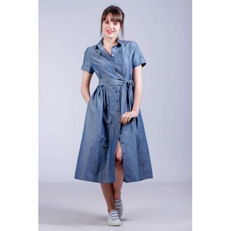 Robe Rachel (bleu)