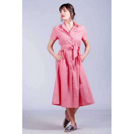 Robe Rachel (rose)