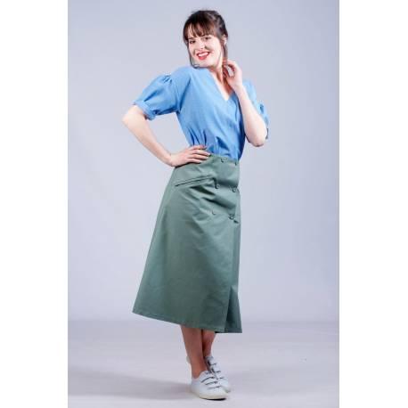 Top Lisa (bleu à poids)