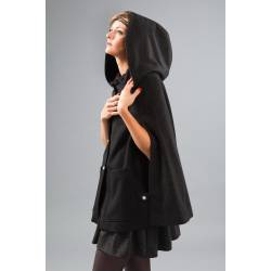 Cape Barbara (black & dark gray)