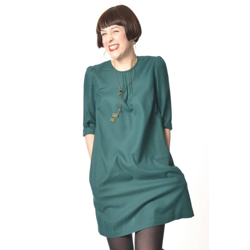 madeva paris robe mara vert meraude cr ateur de. Black Bedroom Furniture Sets. Home Design Ideas