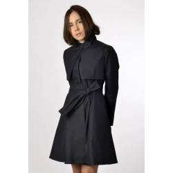 Trenchcoat Lina (waterproof black)