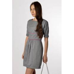 Robe Mila (gris clair)
