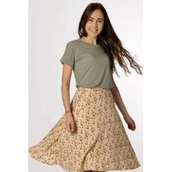 Skirt Bettina (cream prints)